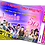 Thumbnail: Fancy Dress, Decades, Birthday Party Invitation. Ticket Style Red, Pink or Blue
