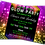 Thumbnail: Glow, Neon, Disco, UV,  Birthday Party Invitation. Red, Pink or Blue