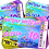 Thumbnail: Hot Tub, Birthday Party Invitation. Ticket Style, Pastels: Purple, Pink or Blue