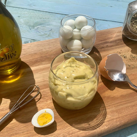 Mayonnaise maison à l'huile d'olive extra vierge