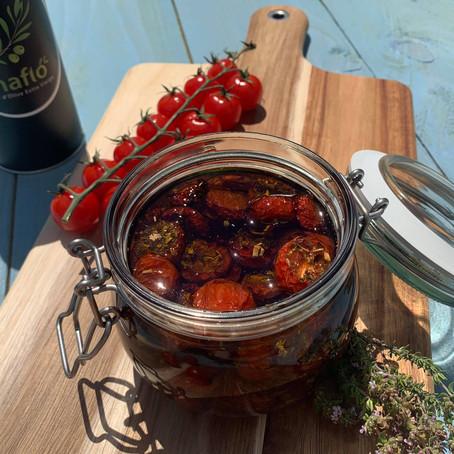 Tomates confites à l'huile d'olive extra vierge
