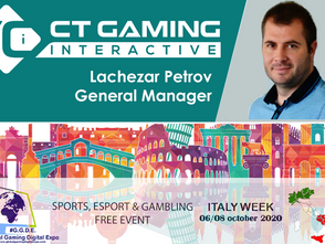 Italy Week: casinò online protagonista con CT Gaming Interactive e Lachezar Petrov (General Manager)