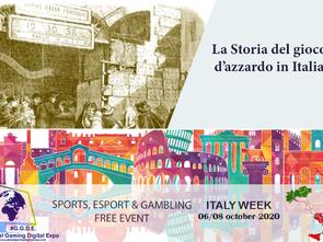 Italy Week: Quali solo le origini del gioco d'azzardo in Italia?