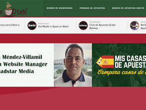 iGaming Cafè: The Betting Coach interviews Borja Méndez-Villamil, Spanish Website Manager from Leads