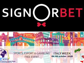 Italy Week: Signorbet.it e la sua idea di essere diverso per il mercato del gioco