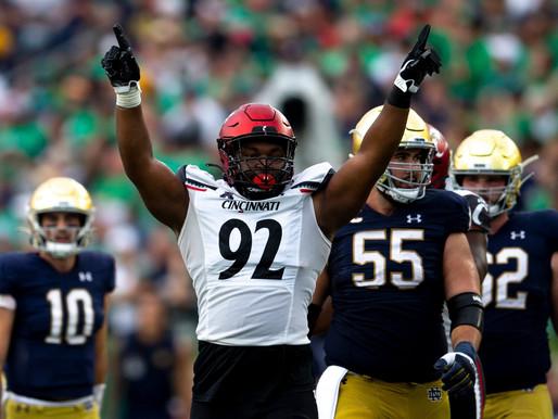 College Football Week 5 Recap: Chaos is Here, Two Team Race, Cincy Controls It's Destiny. CS Top 10