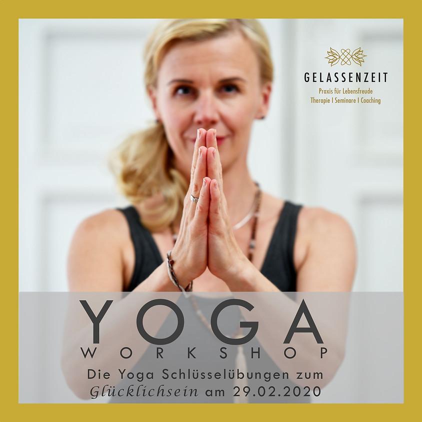 """Yoga  Workshop - """"Die Schlüsselübungen""""                                     Am: 29.02.20"""