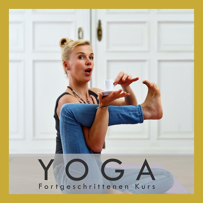 Yoga Fortgeschrittenen Kurs                                        Beginn: Freitag 24.04.20