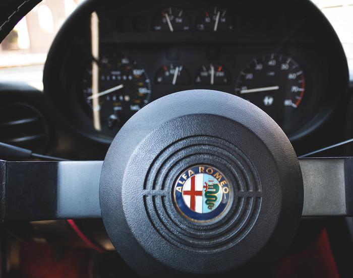 Alfa Romeo 105 Spider Quadrifoglio