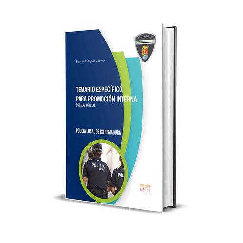 Temario específico para promoción interna: Oficial