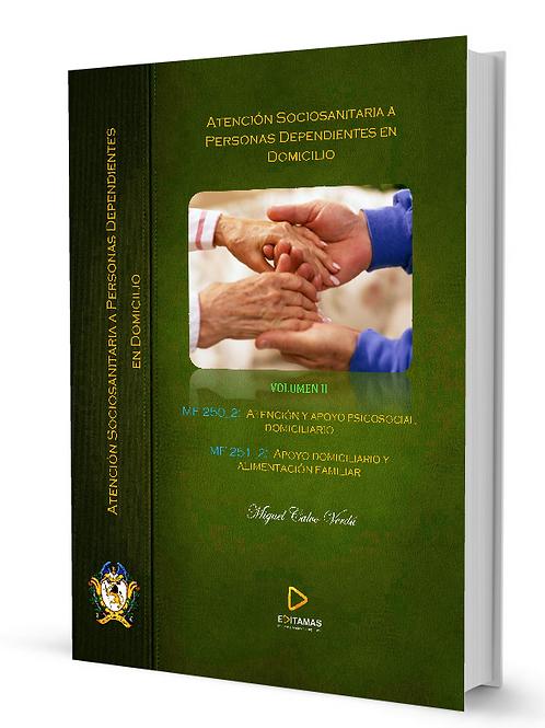 At. Sociosanitaria a personas dependientes en domicilio  Módulos 2 y 3