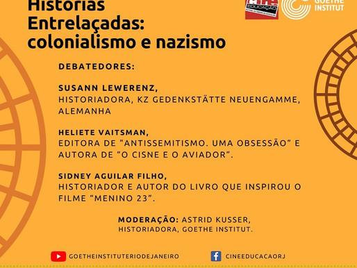 """Live """"Histórias Entrelaçadas: colonialismo e nazismo"""" discute importância das políticas de memória"""