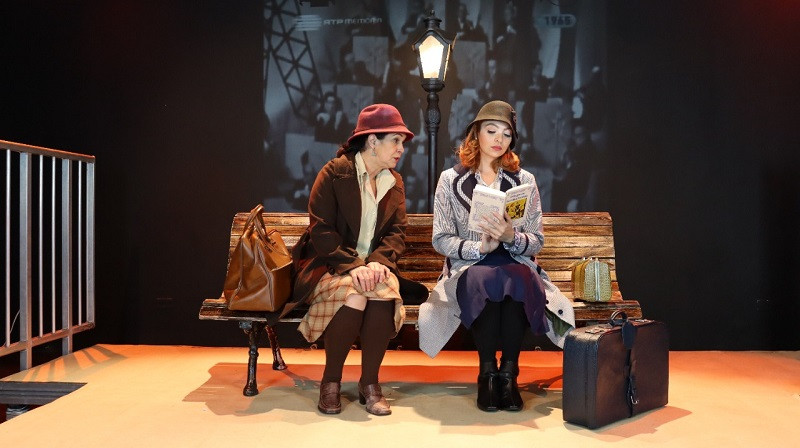 Dalilea Ayala e Sharon Barros (Foto: Fabio Martins)