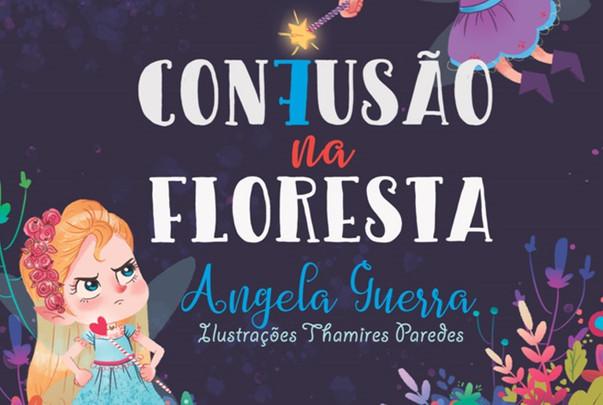 Escritora Angela Guerra lança livro infantil acessível a todos os públicos