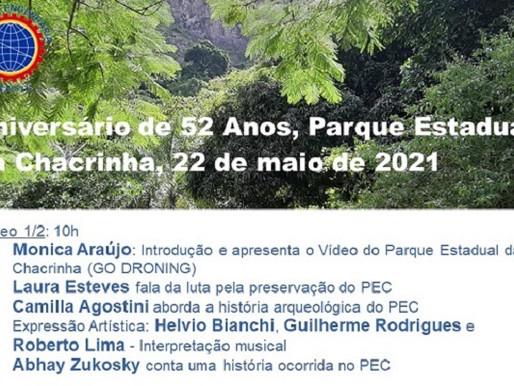 Aniversário do Parque da Chacrinha é comemorado com lives no Youtube