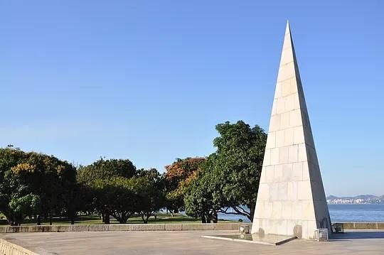 Monumento Estácio de Sá, no Parque do Flamengo