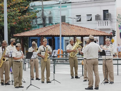 Banda de Música da GM-Rio faz live em homenagem ao aniversário do bairro de Copacabana