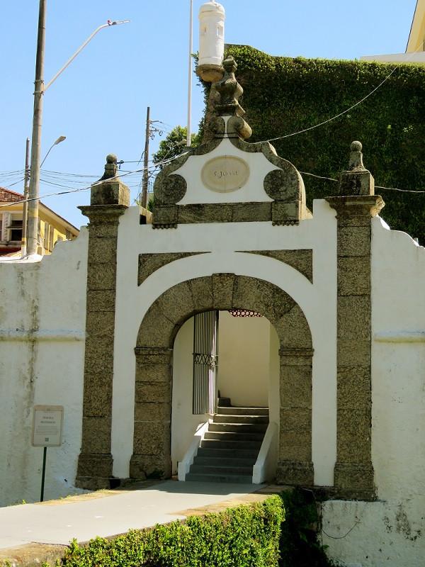 Pórtico da Fortaleza de São João