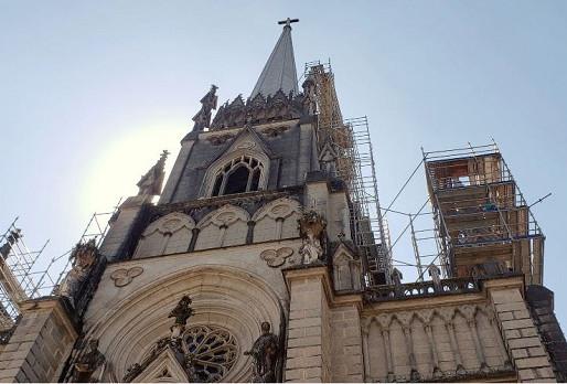 Restauro da Catedral Imperial segue a todo vapor em Petrópolis (RJ)