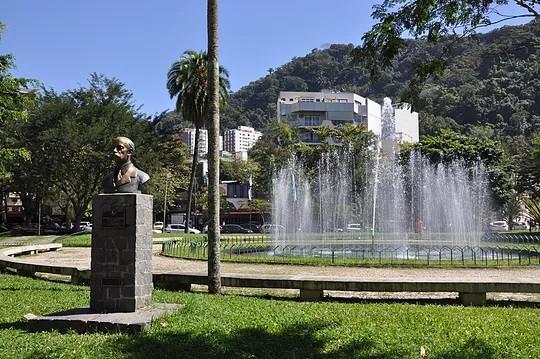 Praça Santos Dumont, na Gávea