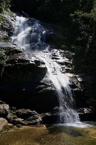 Cascatinha Taunay, na Floresta da Tijuca