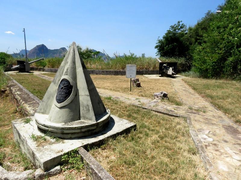 Bateria Coronel Marques Porto, na Fortaleza de São João