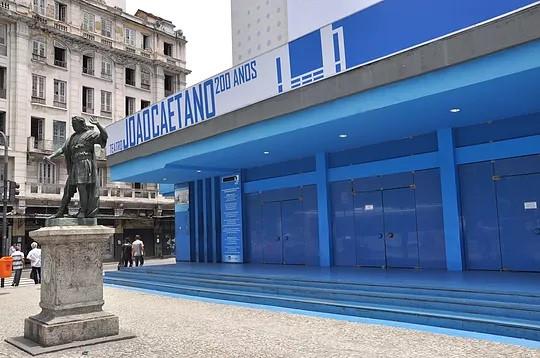 Teatro João Caetano, na Praça Tiradentes