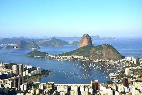 Enseada de Botafogo vista do Mirante Dona Marta