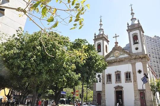 Igreja de Santa Luzia, no Centro do Rio
