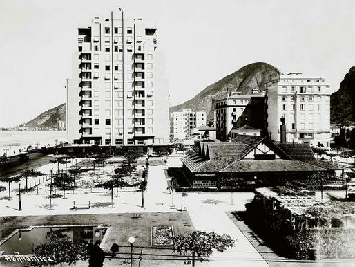 A história das praças de Copacabana