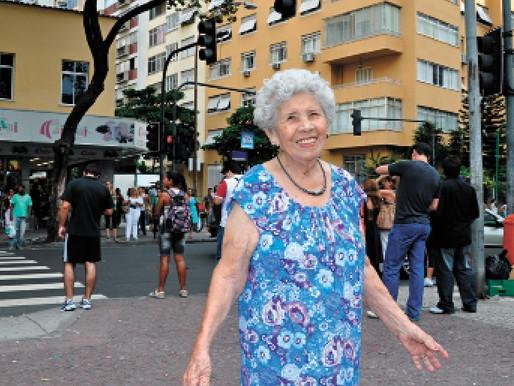 Copacabanense, dona Nair completa 100 anos com linda história de vida e amor
