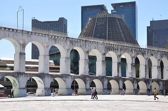 Arcos da Lapa e Catedral Metropolitana