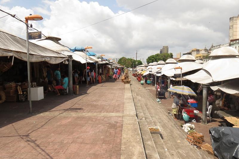 Mercado Ver-O-Peso, em Belém, no Pará