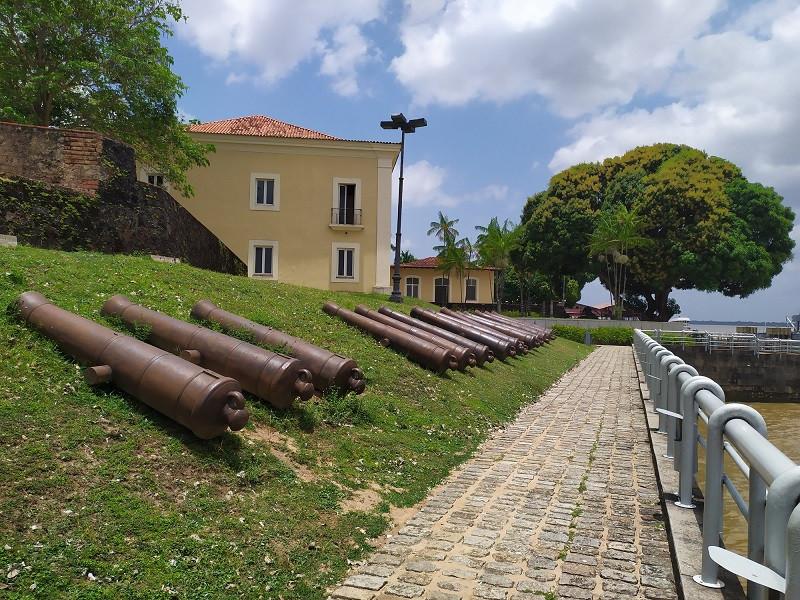 Forte do Presépio e Casa das 11 Janelas, em Belém, no Pará