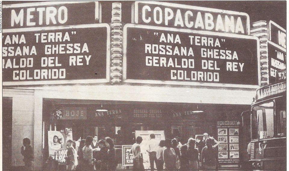 Fachada do Cinema Metro Copacabana