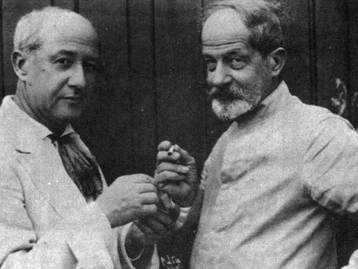 Mortes de Rodolpho e Henrique Bernardelli completaram 90 e 85 anos, respectivamente, em abril