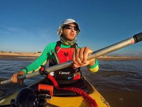 Remador carioca prepara-se para expedição solidária no Rio Paraná