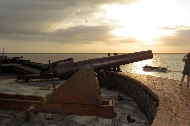 Forte do Presépio, em Belém, no Pará