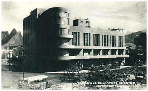 O Cine Varietè ficava no interior do Cassino Atlântico, em Copacabana