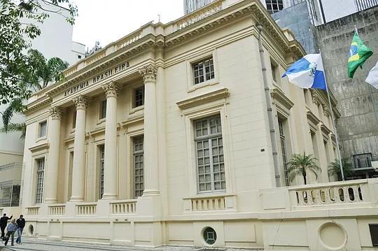 Sede da Academia Brasileira de Letras, no Centro do Rio