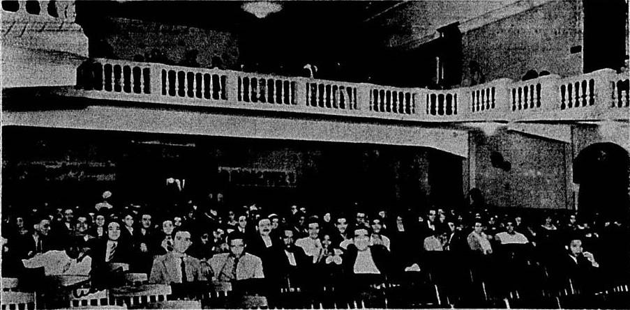 Interior do Cinema Americano, em Copacabana, em 1932
