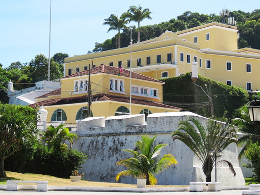 Fortaleza de São João, local de fundação da cidade, possibilita passeio rico em história