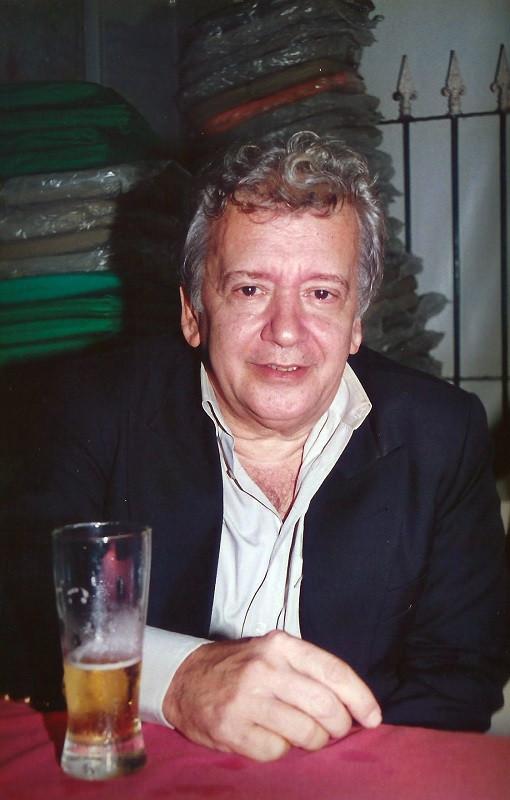João Roberto Kelly no Clube Cultural e Recreativo Posto 6, em Copacabana