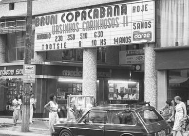 """Coluna """"Os Cinemas de Copacabana"""": Cine Bruni (1961 - 1989) / Star Copacabana (1989 - 1998)"""