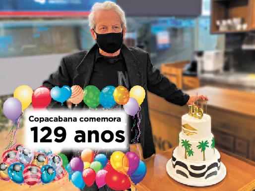 Copacabana completa 129 anos