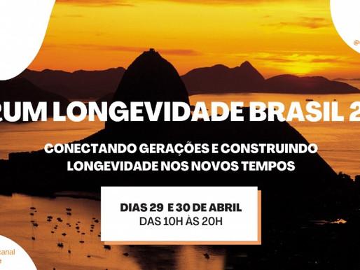 Movimento Longevidade Brasil realiza fórum online