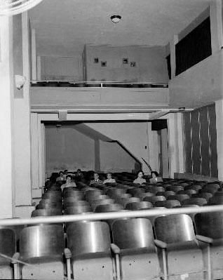 Interior do Cineminha do Leme
