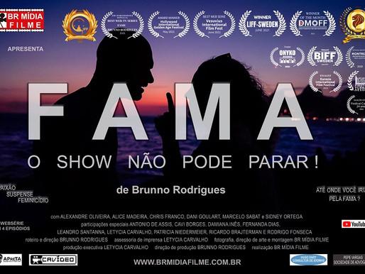 Websérie gravada em Copacabana conquista prêmios internacionais