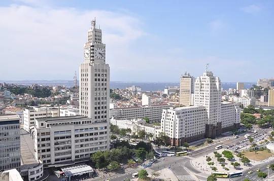 Central do Brasil e Palácio Duque de Caxias