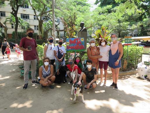 Bairro Peixoto ganha horta comunitária